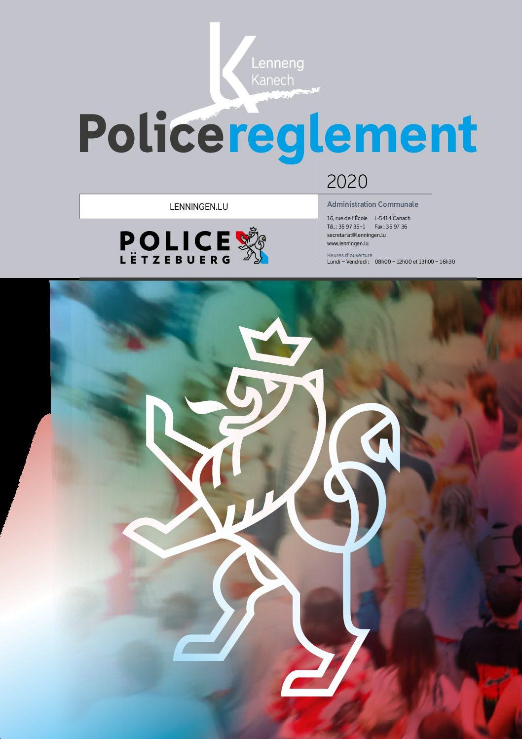 2020-08-03-Policereglement Broschure